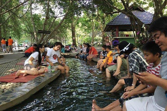 Hot Springs San Kamphaeng and Thai Handicraft Tour from Chiang Mai