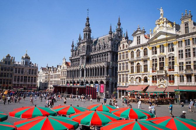 Private 4-hour City Tour of Brussels with driver and tour guide w/ hotel pick up