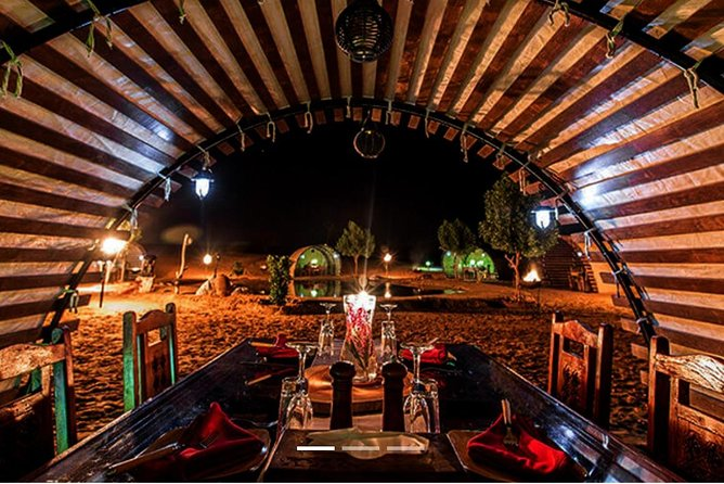 From Dubai: Private Desert Safari Tour with BBQ Dinner
