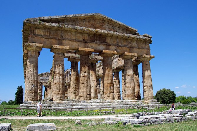 Mozzarella cheese and Greek Temples in Paestum - From Naples