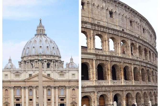 Rome in a two day: Vatican and Colosseum Skip the Line Guided Tours