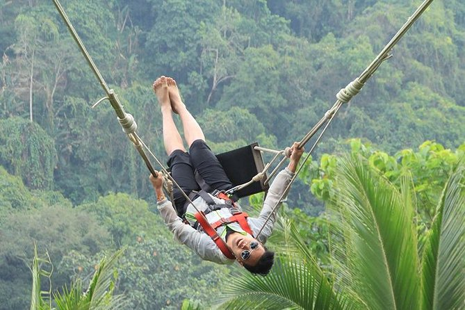 Bali Ubud Swing & Rafting Tours package with Private hotel transfer + Lunch