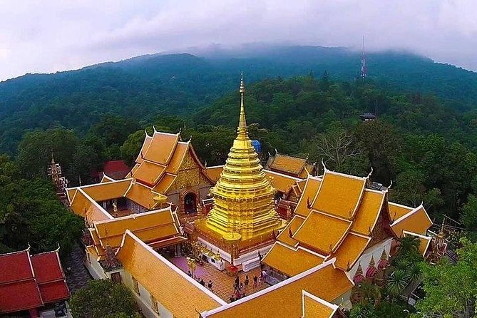 Wat Doi Suthep and Thai Handicraft Tour from Chiang Mai