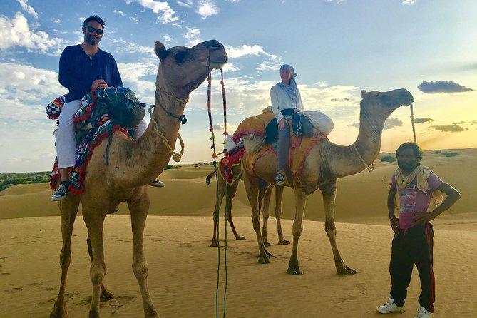 An Overnight Non-touristic Camel Safari (2PM to 11:30 AM Next Day)