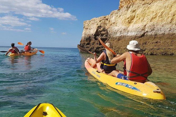 Portimão Kayak Tour: An amazing Benagil Caves Guided tour on Kayak