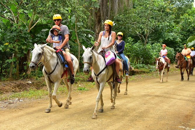 Horseback and Waterfalls Adventure in Jaco with Pick Up