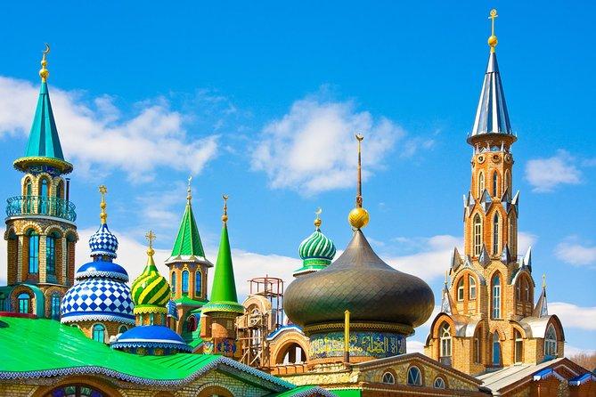 Kazan: Universal Temple and Raifa Monastery Private Tour