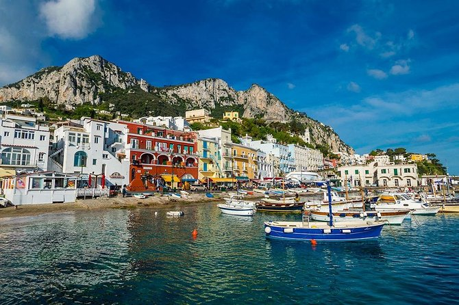 A day walking tour at Capri (6/8 hrs)