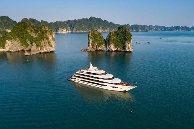 Scarlet Pearl Cruises - BEST Luxury Halong Bay & Lan Ha Bay Trip 2Days 1Night