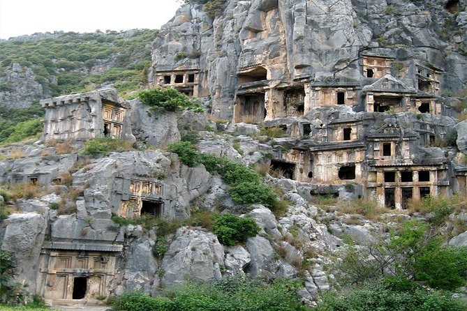 from Alanya: Excursion to Demre Myra Kekova Sunken City