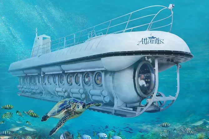 Barbados Harrison's Cave and Atlantis Submarine Dive Tour 2021