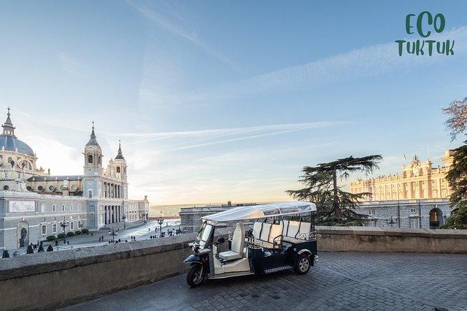 4-hour expert tour of Madrid in electric tuk-tuk