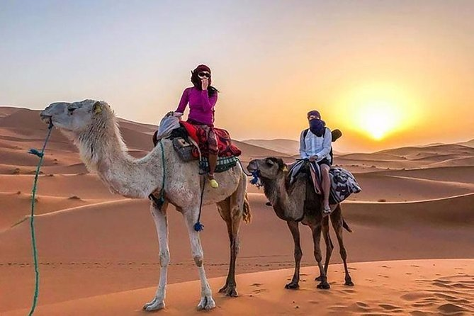 Merzouga 3 days shared Tour from Marrakech, Camel Trek, Desert With Riad 111