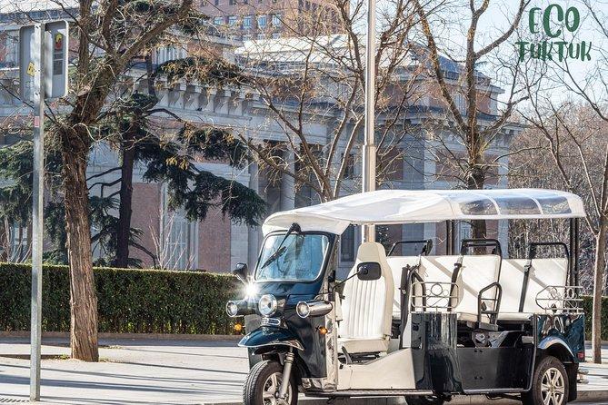 Tour in electric tuk-tuk through Modern Madrid