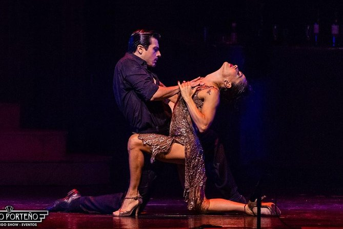 Dinner Tango Show in Tango Porteño including transfers