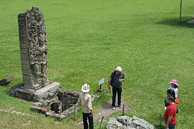Exploring Copan Ruins, Honduras