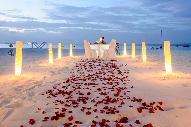 Cancun Romantic Dinner on the Beach