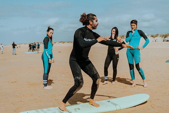 Surf Classes in Cadiz
