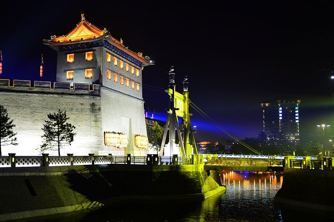 Xian City Night View Private Tour