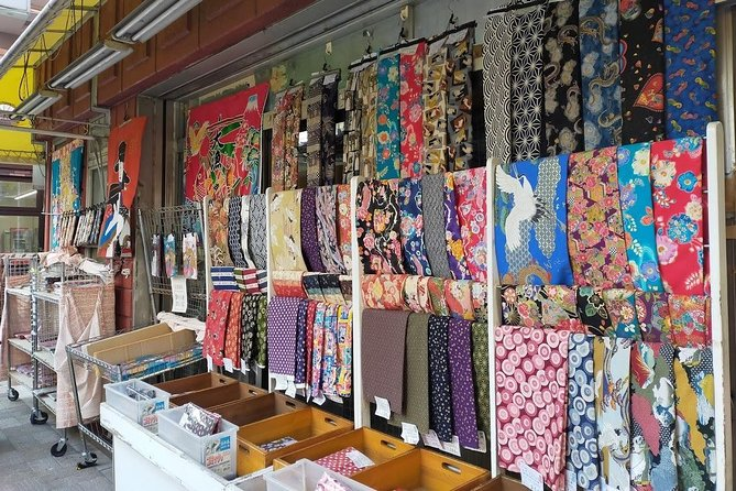 Tokyo Full day, Old Town for Fabric lover
