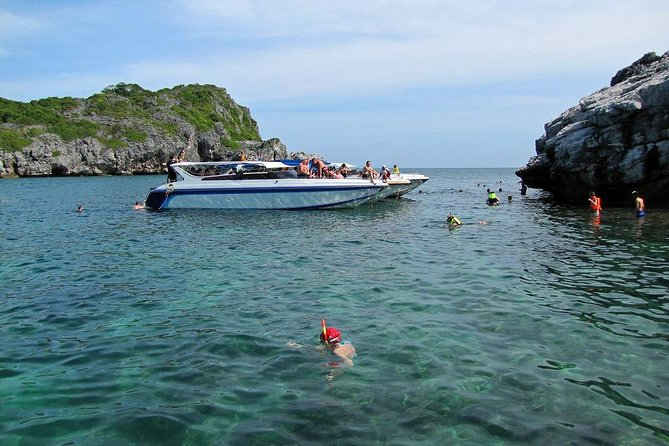 Angthong Marine Park By Speed Boat