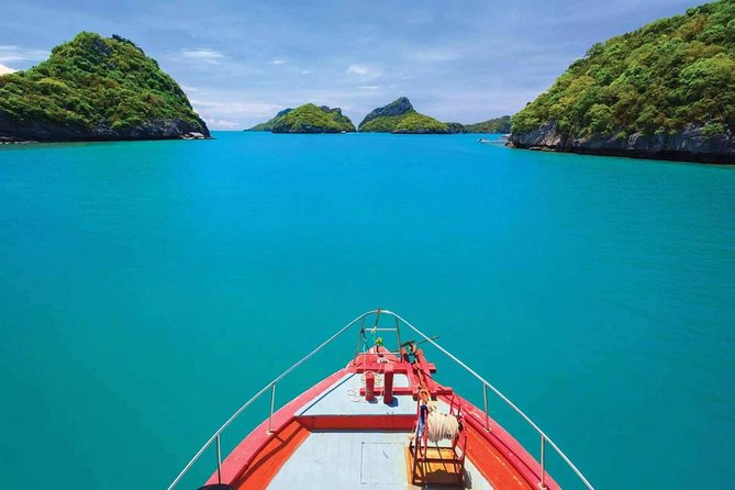 Ang Thong Islands by Speedboat Including Lunch from Koh Samui