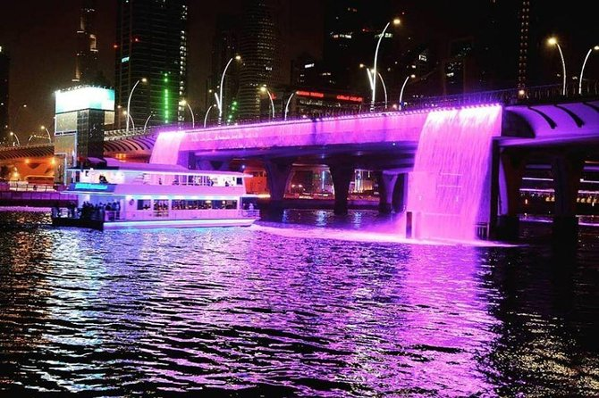 Dhow Dinner Cruise at Dubai Canal (Without Hotel Transfers)