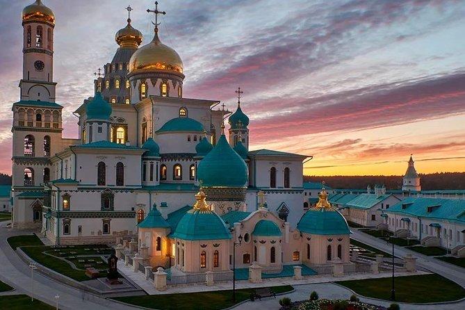 New-Jerusalem, Savva-Storozhevskiy and Joseph-Volokolamsk monasteries in 1 day