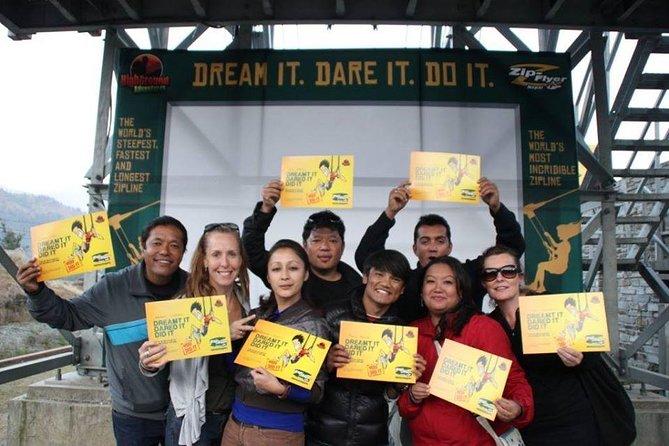 Pokhara: World's Steepest Zip Line Tour