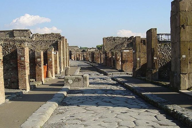 Transfer to the Archaeological Park of Pompeii