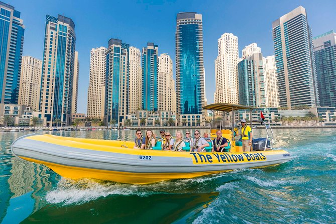 Yellow Boat Ride in Dubai with Sharing Hotel Pickup