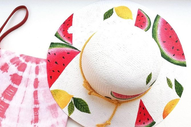 Athens Painting Workshop: Paint Your Own Straw Summer Hat