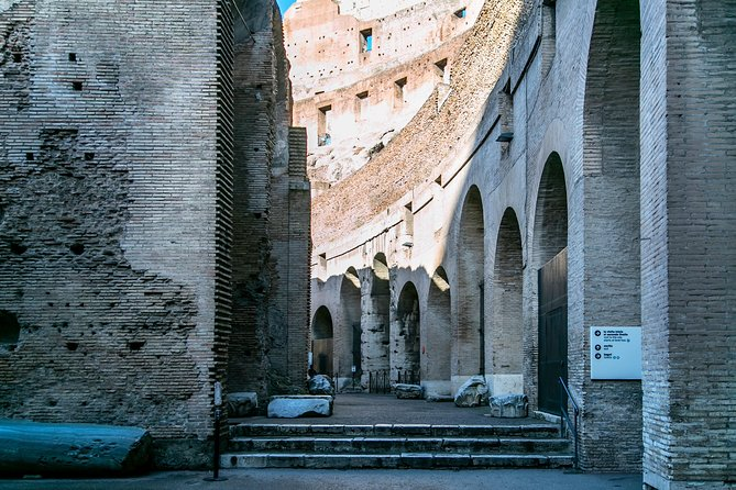 Private Colosseum Guided Tour with Skip-the-Line Tickets Ancient Rome & Forums