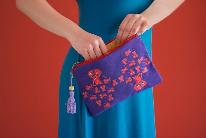 Athens Fabric Painting Workshop: Make Your Own Pouch