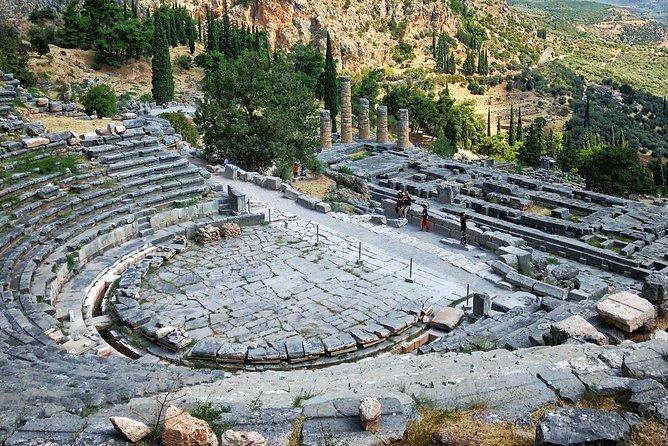 Full Day Delphic Landscape Private Tour Experience