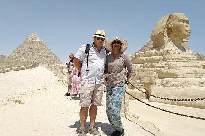 4 hours Giza pyramids sphinx day tour from Giza Cairo hotels