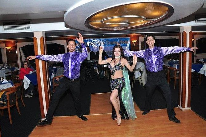 Dinner cruise and dinner with belly dancer and folklore show