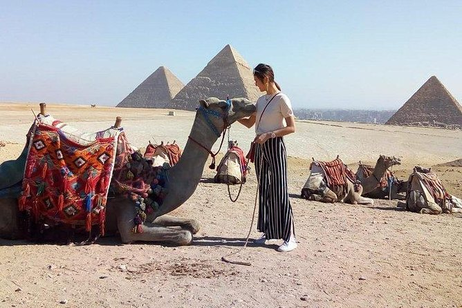 Horse or Camel Riding Tour around Giza pyramids from Cairo or Giza