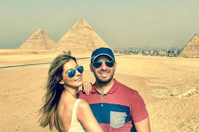 Pyramids & Cairo Day Tour from Hurghada by domestic return flight