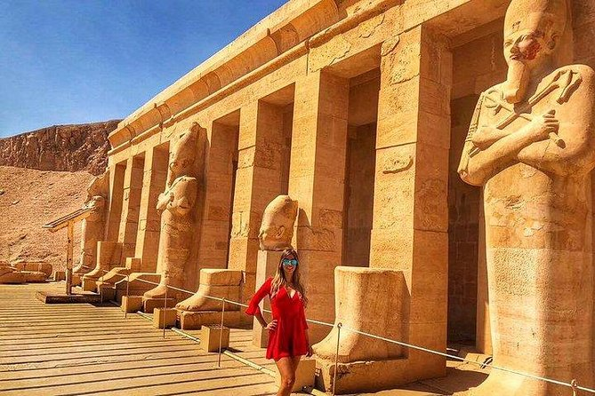 Full Day Tour to Luxor east and west bank temples and tombs From Hurghada