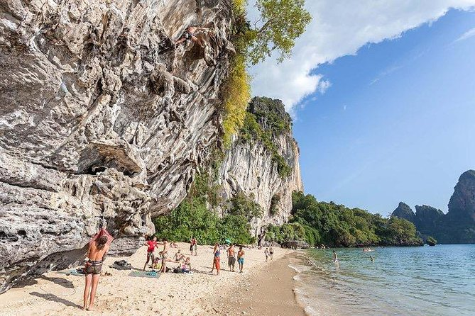 Tremendous Rock Climbing jeopardise at Railay beach, Krabi