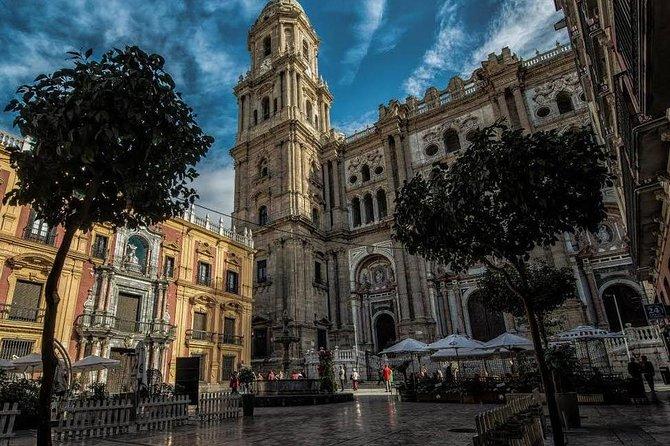 Malaga in de schemering