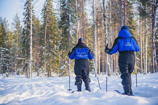 Ski Trekking Safari in Lapland