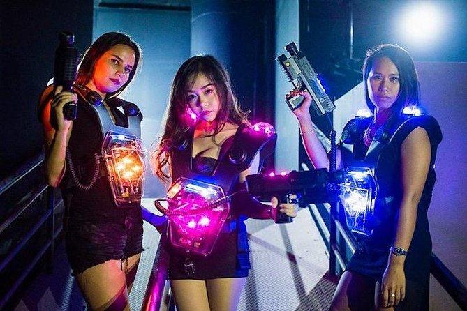 LAZGAM Laser Game at Pattaya Admission Ticket