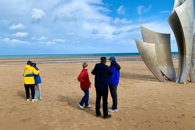 O Dia D, desembarque na Normandia Beach Tour Privado de Paris-VIP Service