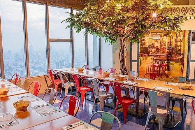 Bangkok Sky Dining Buffet at Baiyoke Sky 76th & 78th Floor Admission Ticket