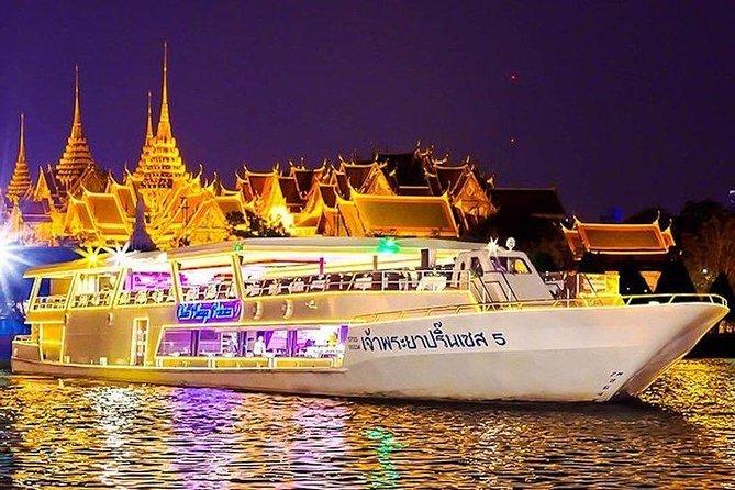 Chao Phraya Princess Dinner Cruise at Bangkok Admission Ticket
