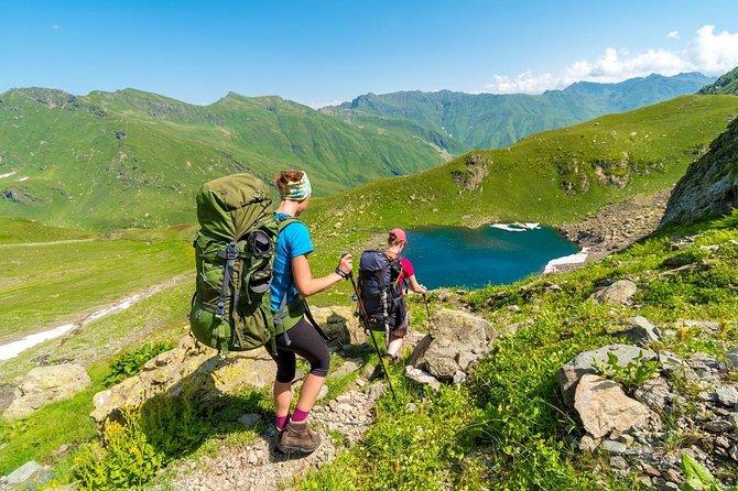 Trekking in Mestia, Svaneti Georgia