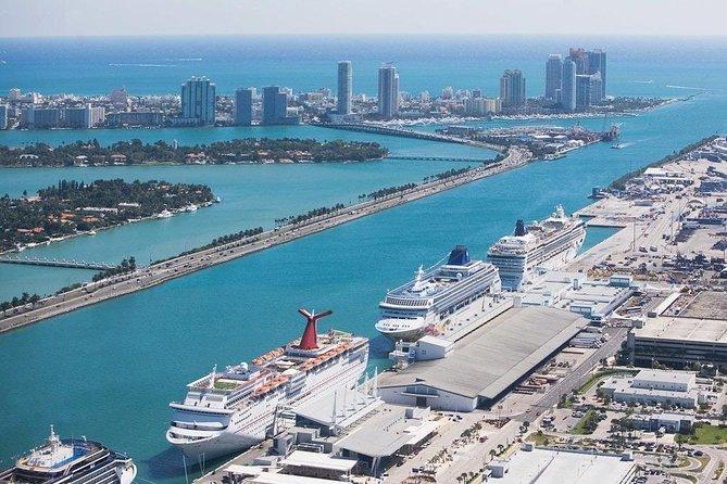 Transfer from Miami Port to Miami Airport with Semi Private City Tour