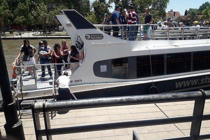 City tour and boat trip through the Delta del Tigre. Buenos Aires